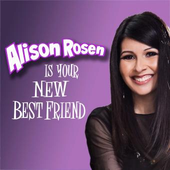 Alison Rosen Is Your New Best Friend podcast artwork