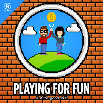 Playing for Fun podcast artwork