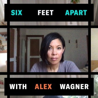 Six Feet Apart with Alex Wagner podcast artwork
