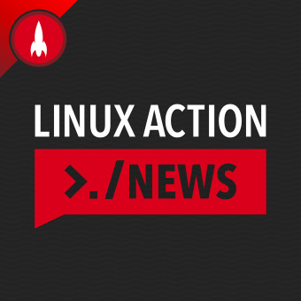 Linux Action News podcast artwork