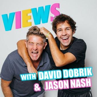 VIEWS with David Dobrik and Jason Nash podcast artwork