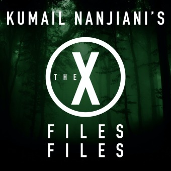 Kumail Nanjiani's The X-Files Files podcast artwork