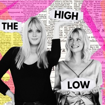 The High Low podcast artwork