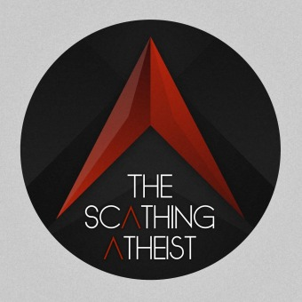 The Scathing Atheist podcast artwork