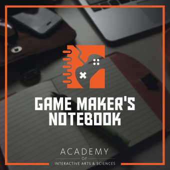 The AIAS Game Maker's Notebook podcast artwork