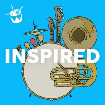 Inspired podcast artwork