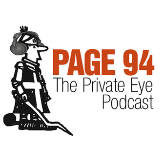 Page 94: The Private Eye Podcast podcast artwork