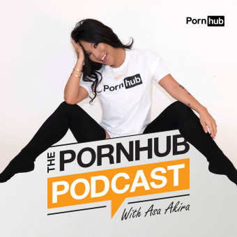 The Pornhub Podcast with Asa Akira podcast artwork