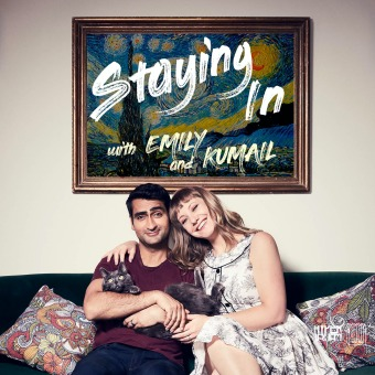 Staying In with Emily & Kumail podcast artwork