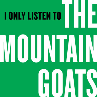 I Only Listen to the Mountain Goats podcast artwork