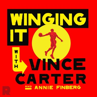 Winging It With Vince Carter podcast artwork