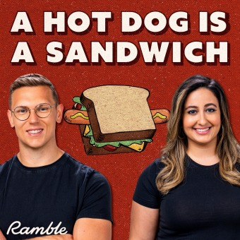 A Hot Dog Is a Sandwich podcast artwork